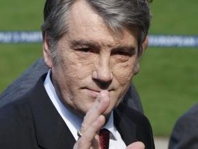 Ющенко раскритиковал политику энергосбережения в Украине