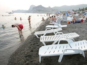 В Крыму заметно сократилось количество курортников