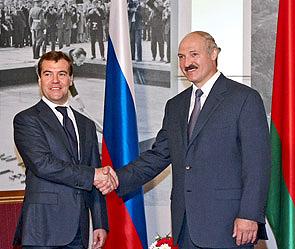 Лукашенко: Беларусь Россию не бросит
