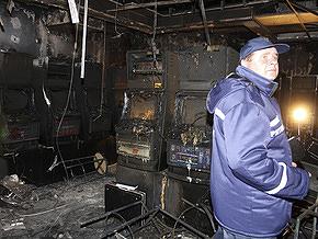 Пожар в Днепропетровске: один из пострадавших находится в тяжелом состоянии