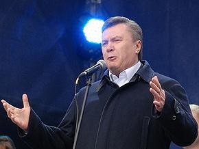 Опрос: Янукович остается лидером в президентском рейтинге