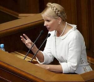 Тимошенко призывает население сдавать доллары