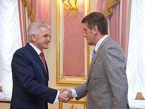 """Литвин призвал Ющенко """"не выступать, как большевики с лозунгом"""""""