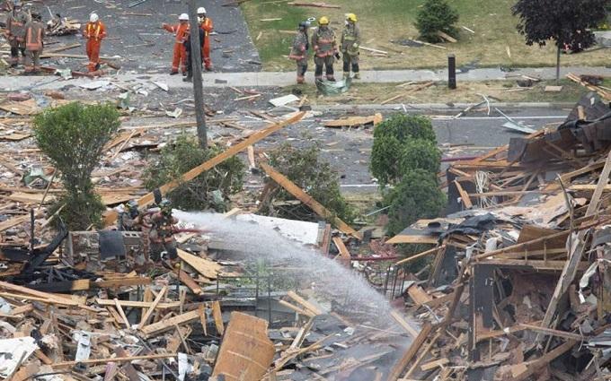 Через загадковий вибух у Канаді пошкоджені десятки будівель: з'явилися фото і відео