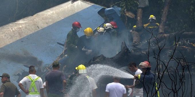 На Кубе разбился пассажирский самолет, более 100 погибших: появились первые фото и видео (1)