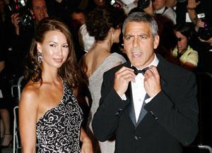 Джордж Клуни бросил свою молодую любовницу