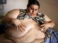 Самый толстый человек в мире надеется, что любовь поможет встать ему на свои ноги