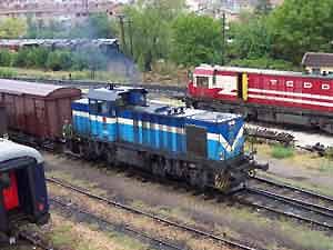 В Турции товарный поезд подорвался на мине