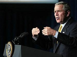 Джордж Буш намерен поймать бин Ладена до окончания своего срока