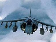 Самолет Harrier британских ВВС разбился в центральной Англии
