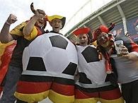 Евро-2008: Германия побеждает Австрию и выходит на Португалию