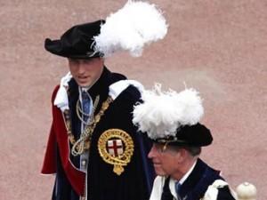 Принц Уильям стал тысячным рыцарем ордена Подвязки