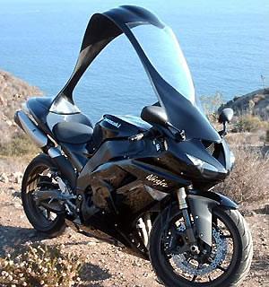 Теперь и у мотоциклов будет крыша