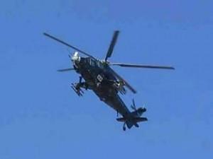 В Китае столкнулись два военных вертолета