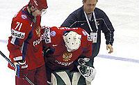 Последний рубеж России: сборная по хоккею лишилась лучшего вратаря