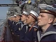 Начался парад Черноморского флота
