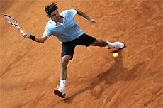 Федерер - полуфиналист турнира в Гамбурге