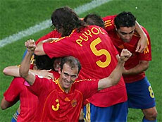 Сборной Испании установили призовые за победу на Евро-2008
