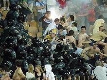 Фанаты Динамо встретятся с Беркутом на футбольном поле