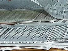 Киевский теризбирком начал считать проценты по «мокрым» протоколам