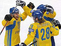 Сборная Украины по хоккею спаслась на последней минуте