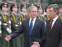 Буш заявляет, что Россия не имеет права диктовать Украине, куда двигаться