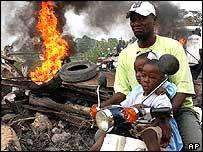 На Гаити произошли вооруженные столкновения местных жителей с миротворцами ООН