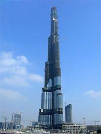 Небоскреб «Дубайская башня» установил новый рекорд высоты