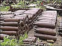В Коростене в пункте приема металлолома нашли 80 снарядов
