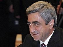 Серж Саркисян вступил в должность президента Армении
