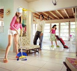 Весенняя генеральная уборка положительно влияет на здоровье