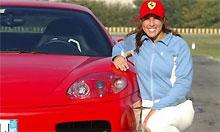 """Открылась фотовыставка """"Ferrari и женщины"""""""