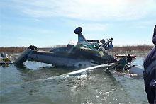 Названы три возможные причины катастрофы Ми-8 над Черным морем