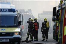 У Лондоні горить найстаріший в світі онкологічний центр