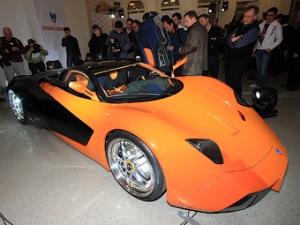 Первый российский суперкар будет называться Marussia (3 фото)