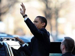 Новый лимузин Барака Обамы выдержит выстрел из гранатомета