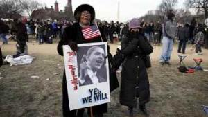 Обама и Буш выехали вместе из Белого дома на инаугурацию в Капитолий