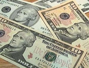 Межбанковский доллар упал на 12 копеек