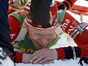 Норвежка Бергер побеждает в спринте