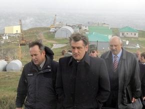 Ющенко хочет привлечь норвежцев для разведки залежей нефти и газа в Черном море