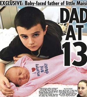 13-летний подросток намерен доказать свое отцовство с помощью ДНК