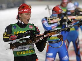 Пхенчхан-2009: Кати Вильгельм победила в индивидуалке, украинки - в тридцатке