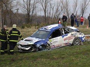 Гоночный автомобиль врезался в толпу зрителей в Чехии