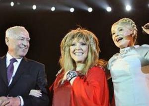 Тимошенко спела для Пугачевой