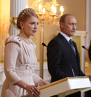 Тимошенко поблагодарила РФ за возможность недобирать газ
