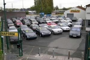 Импорт подержаных автомобилей в Украину сократился
