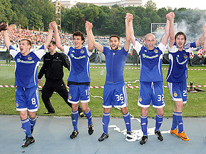 В еврокубках сезона 2009/2010 сыграют пять украинских команд