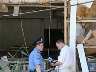 В мелитопольском банке нашли остатки взрывных устройств