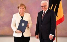 Меркель в черговий раз стала канцлером Німеччини