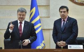 Порошенко жорстко проїхався по Саакашвілі: екс-губернатор їдко відповів
